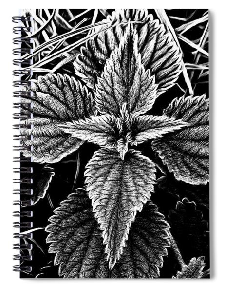 Stinging Nettle Spiral Notebook