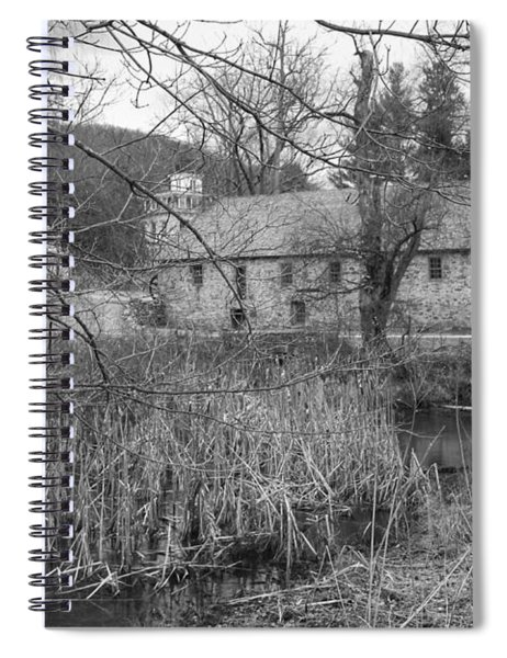 Stone And Reeds - Waterloo Village Spiral Notebook