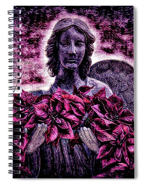 Stone Angel Spiral Notebook