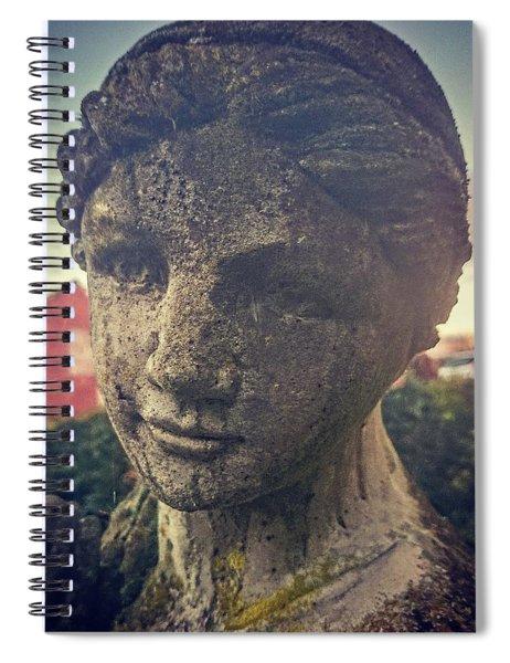 Stone Lady Spiral Notebook