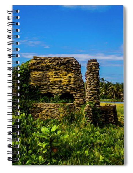 Stone Oven Spiral Notebook