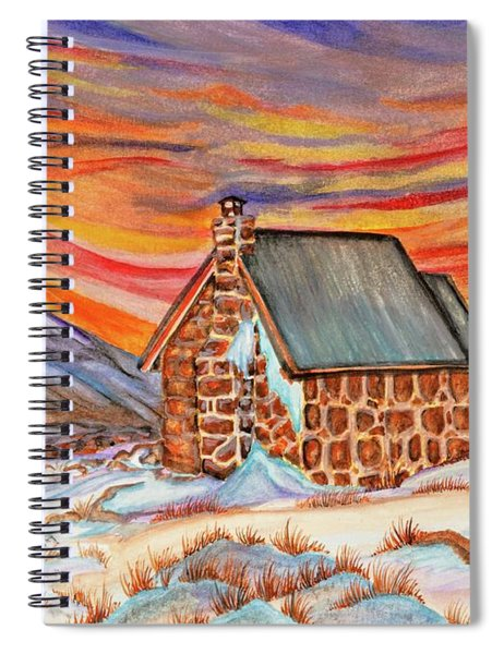 Stone Refuge Spiral Notebook