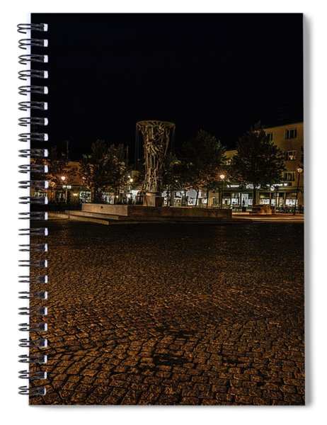 stora torget Enkoeping #i0 Spiral Notebook