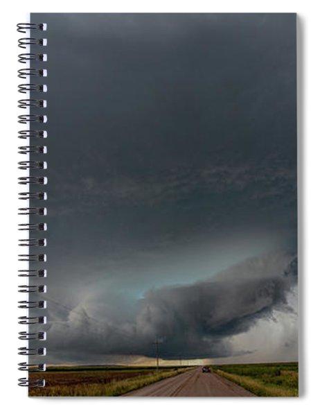 Storm Chasin In Nader Alley 008 Spiral Notebook