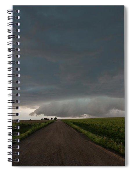 Storm Chasin In Nader Alley 025 Spiral Notebook