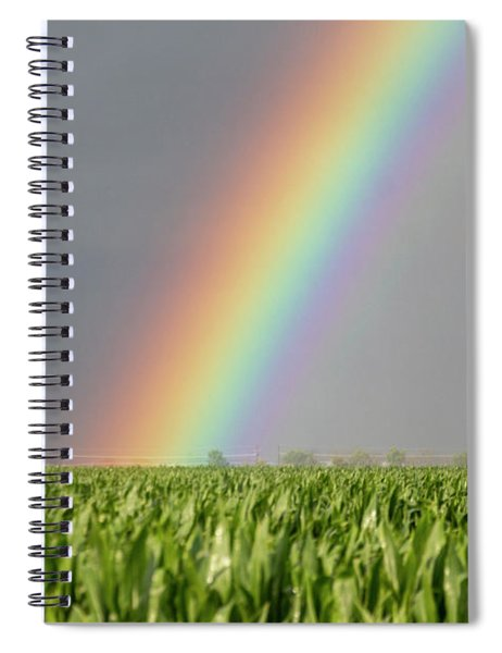 Spiral Notebook featuring the photograph Storm Chasing After That Afternoon's Naders 023 by NebraskaSC