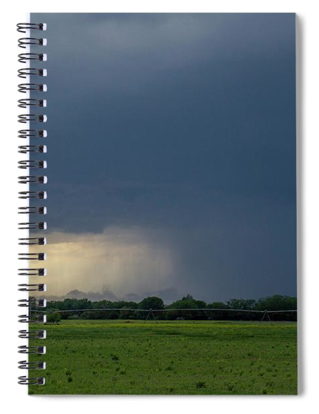 Spiral Notebook featuring the photograph Storm Chasing West South Central Nebraska 002 by Dale Kaminski