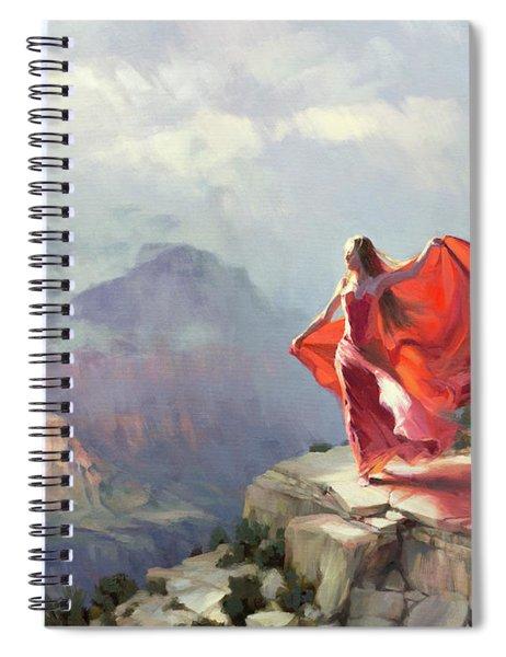 Storm Maiden Spiral Notebook by Steve Henderson