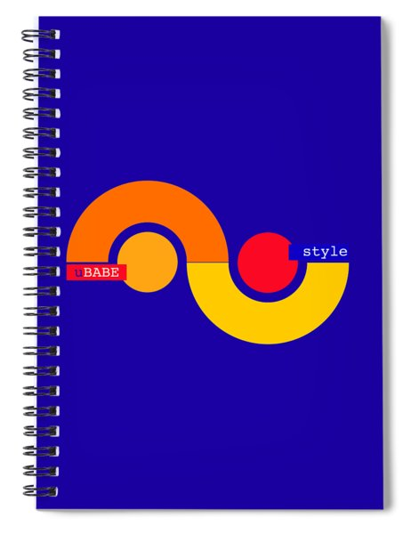 Storm Style Spiral Notebook