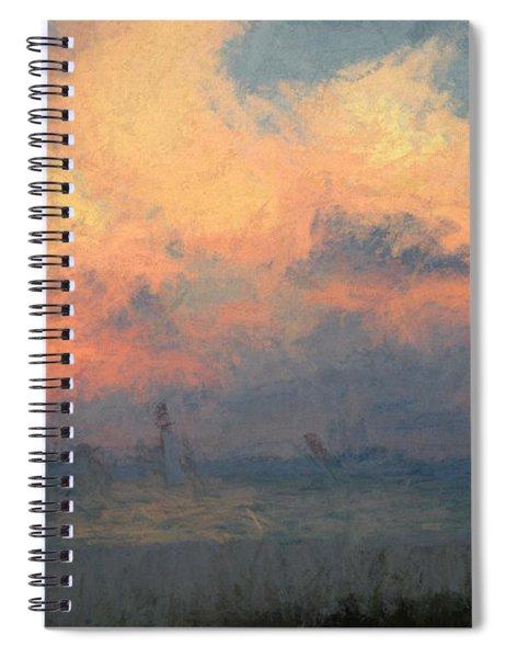 Stormy Beach Spiral Notebook