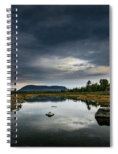 Stormy Day In Maine Spiral Notebook