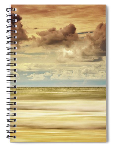 Stormy North Sea Spiral Notebook