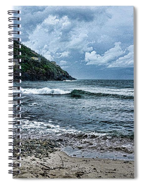 Stormy Shores Spiral Notebook