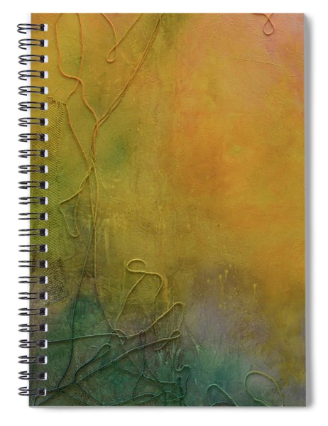 Strands Of Time Float Into The Mist Spiral Notebook