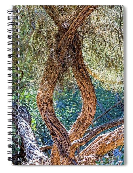 Strange Tree Spiral Notebook