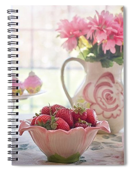Strawberry Breakfast Spiral Notebook