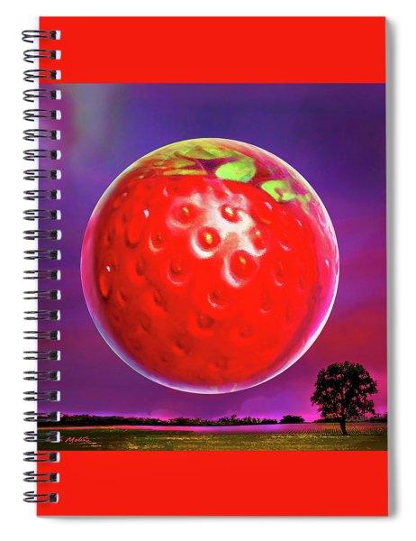 Strawberry Moon  Spiral Notebook