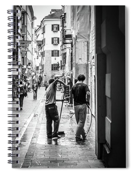 Street Cleaners Spiral Notebook
