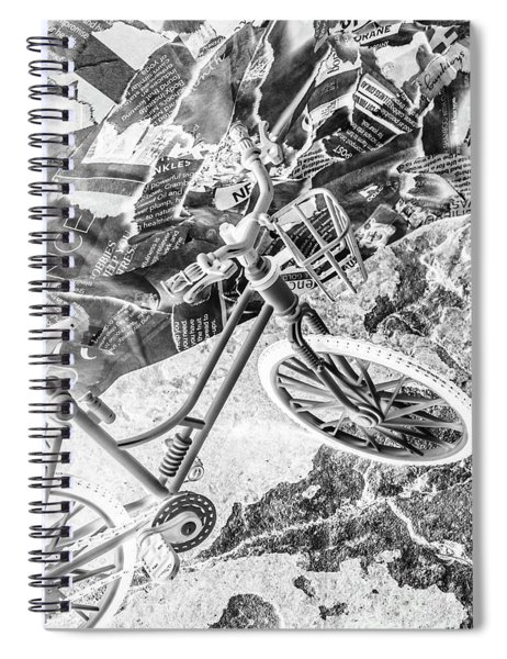 Street Cycles Spiral Notebook