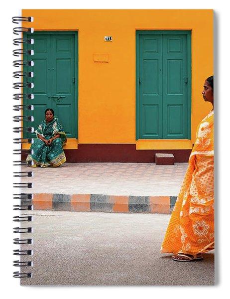 Street Palette Spiral Notebook