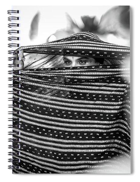 Street Performer Spiral Notebook