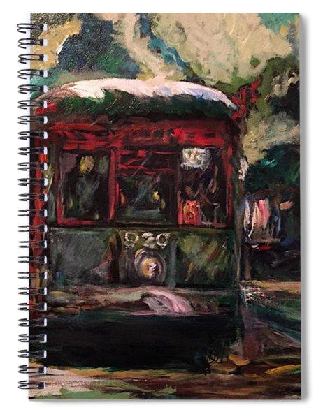 Streetcar  Spiral Notebook