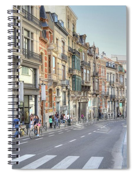 Streets Of Basel Spiral Notebook