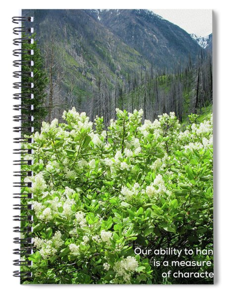Strength And Character - Nature Art By Omaste Witkowski Spiral Notebook