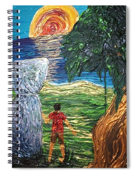 Strength In Roots Spiral Notebook