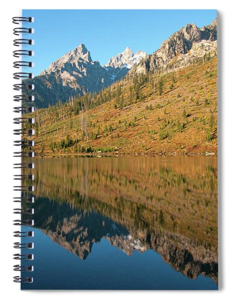 String Lake Mirror Spiral Notebook