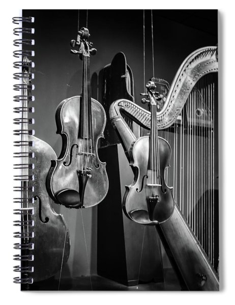 Stringed Instruments Spiral Notebook