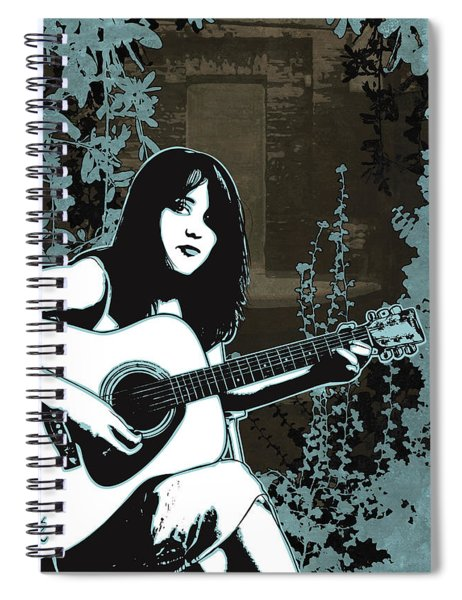 Strings Spiral Notebook