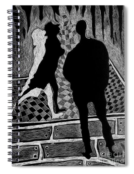 Strolling Spiral Notebook