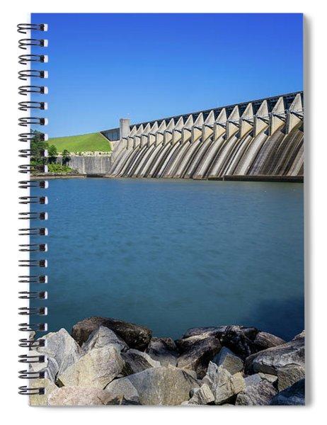 Strom Thurmond Dam - Clarks Hill Lake Ga Spiral Notebook