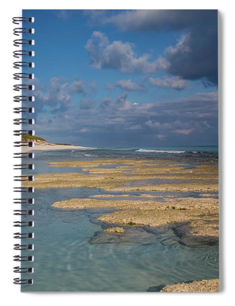Stromatolites On Stocking Island Spiral Notebook