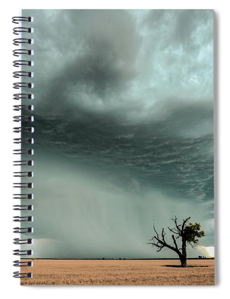 Strong Lone Tree Spiral Notebook