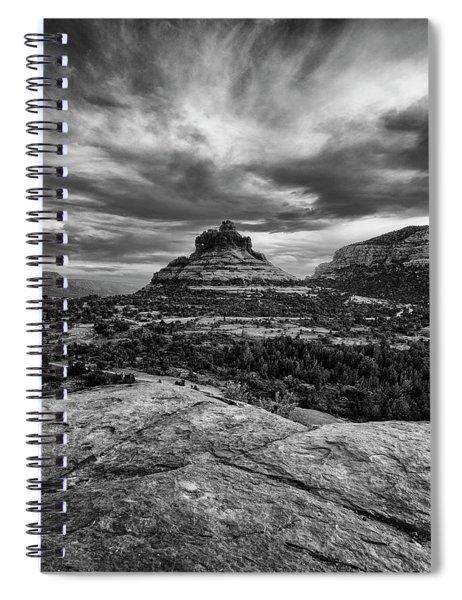 Strong Masculine Vortex Spiral Notebook