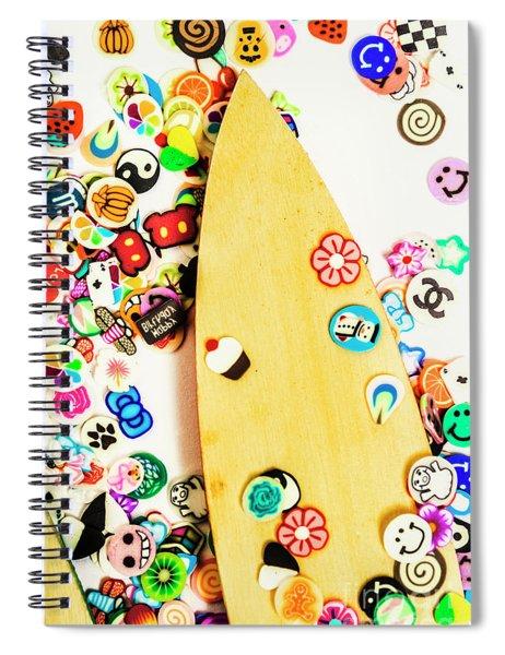 Stuck On Boarding Spiral Notebook