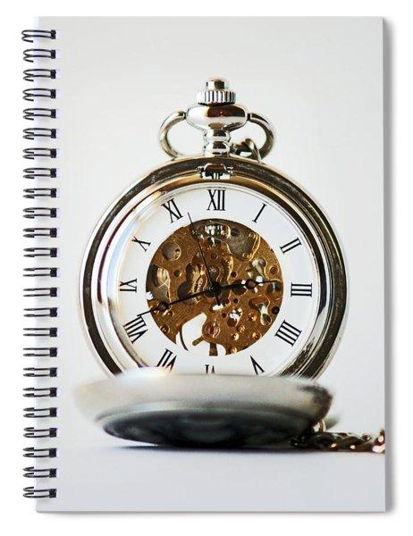 Studio. Pocketwatch. Spiral Notebook