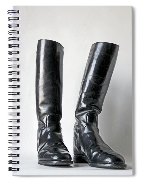 Studio. Riding Boots. Spiral Notebook