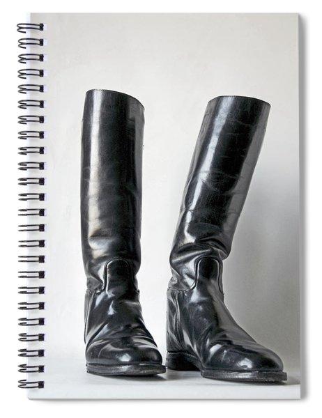 Studio. Riding Boots. Spiral Notebook