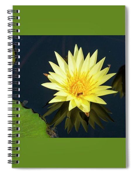 Stunning In Yellow Spiral Notebook