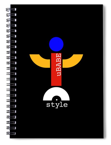 Style Black Spiral Notebook