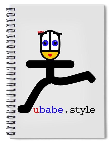 Style Runner Spiral Notebook
