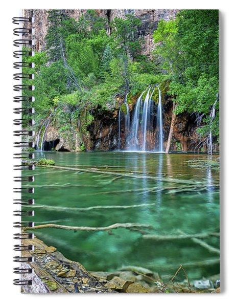 Submerged Log, Hanging Lake Colorado Spiral Notebook