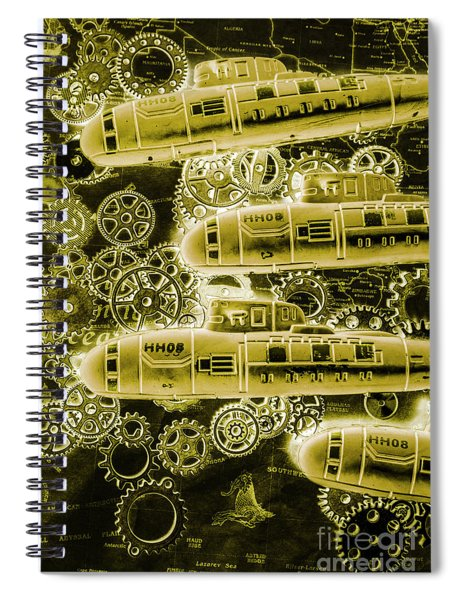 Submersible Seas Spiral Notebook