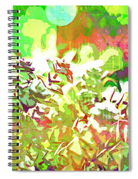 Succulent Garden 1 Spiral Notebook