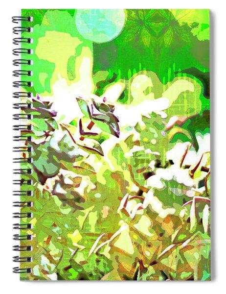 Succulent Garden 2 Spiral Notebook