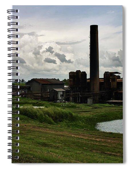Sugar Factory I, Usine Ste. Madeleine Spiral Notebook