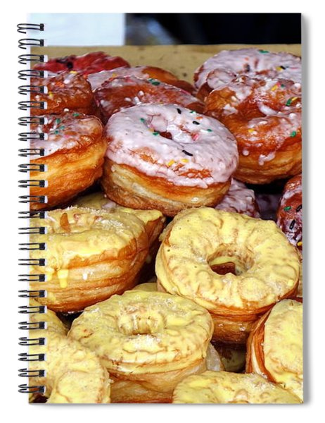 Sugar Frosted Donuts On Sale Spiral Notebook
